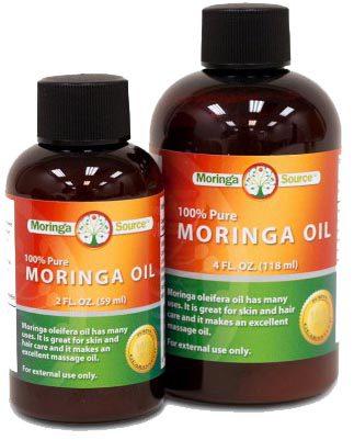 Olio di moringa oleifera