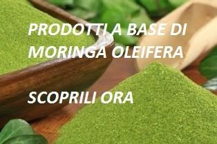 Prodotti a base di Moringa catalogo