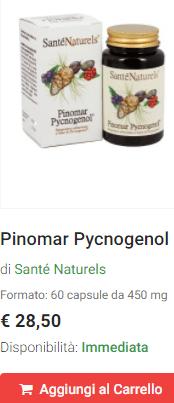 Picnogenolo in capsule
