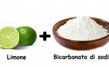 Acqua, limone e bicarbonato di sodio benefici e usi