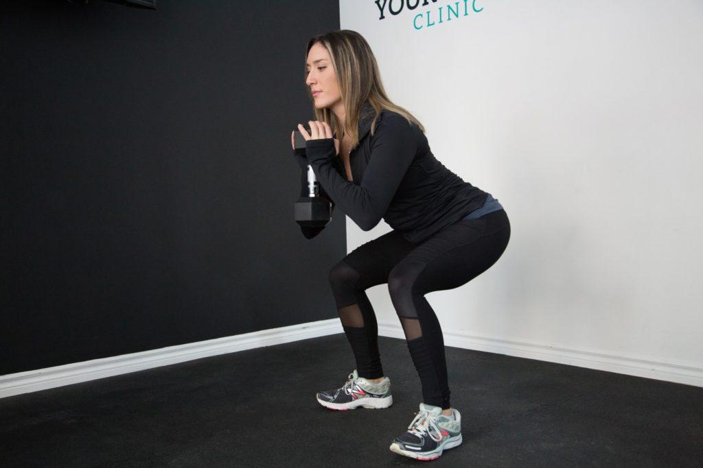 come-dimagrire-le-gambe-squat